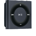 APPLE iPod shuffle 2GB slate MP3-Player