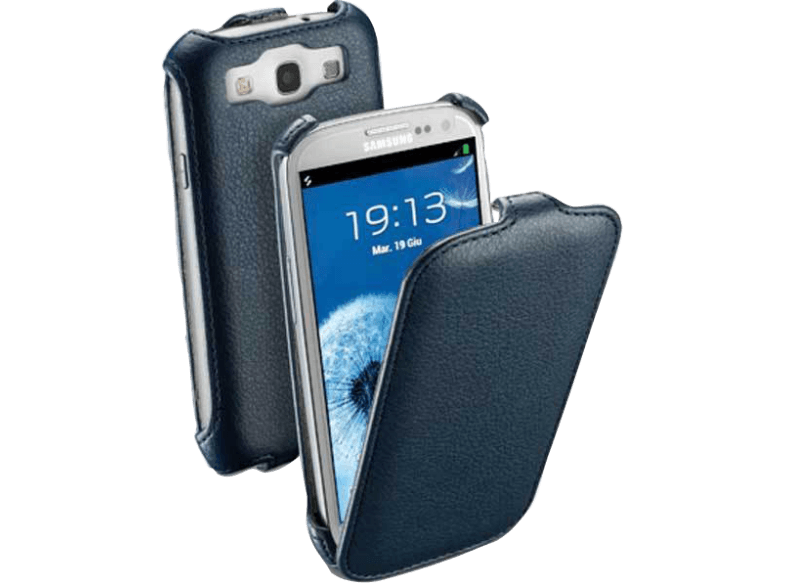 Cellular line flap case i9300 galaxy siii blue