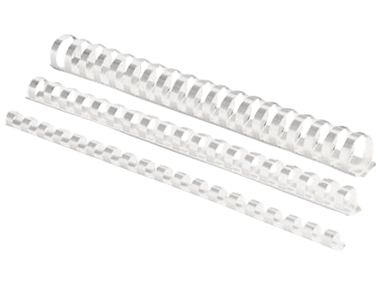 53320 16 MM PLASTIC COMBS WHITE