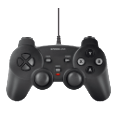 SPEEDLINK SL-6537-BK STRIKE FX USB Gamepad schwarz Gaming