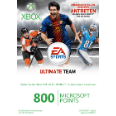 MICROSOFT SW Xbox 360 Live Points Card 800 (EA Sports Design) Xbox 360 Zubehör