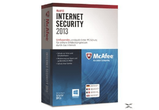 McAfee Internet Security 2013 - 2 User Sicherheitsanwendung PC