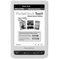POCKETBOOK Touch 622 weiß/schwarz Media Markt Edition inkl. 3 Gratis E-Books E-Book Reader