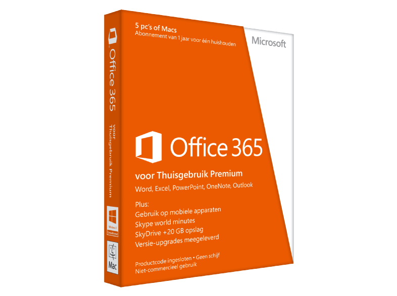 Microsoft software office 365 home
