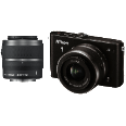 NIKON 1 J3 Kit + 10-30mm + 30-110mm schwarz Digitale Systemkameras