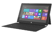 MICROSOFT Surface med Windows RT inkl. Touch Cover - 32 GB