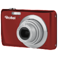 ROLLEI Powerflex 550 rot digitale Kompaktkameras