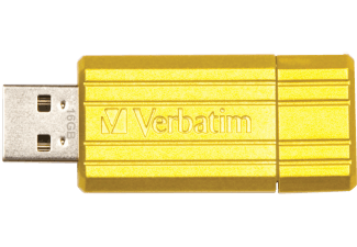 VERBATIM Store'n'Go USB-Stick 16GB Sunkissed Yellow 49066