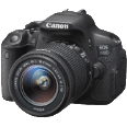 CANON EOS 700D Set inkl. EF-S 18-55mm 1:3,5-5,6 IS STM DSLR-Kameras