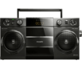 PHILIPS OST690/10 Original Ghettoblaster Bluetooth (USB, 12 Watt) schwarz Radio-Rekorder