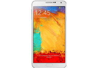 SAMSUNG GALAXY NOTE 3 weiß