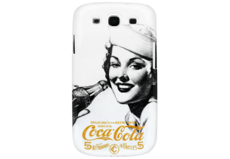 coca cola back case samsung galaxy s4 taschen cover cases kaufen bei media markt. Black Bedroom Furniture Sets. Home Design Ideas