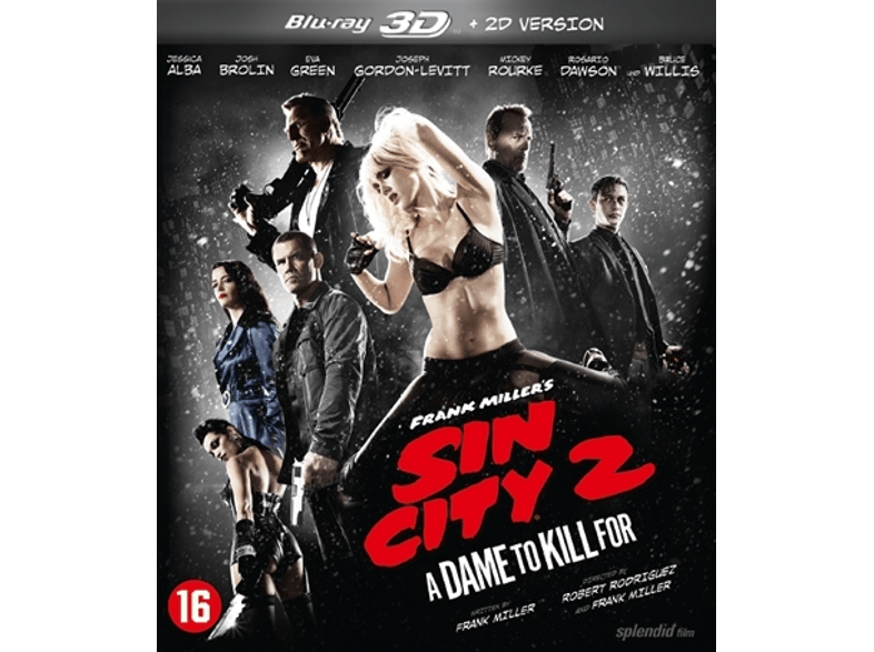 Sin City 2: A Dame For A Kill 3D