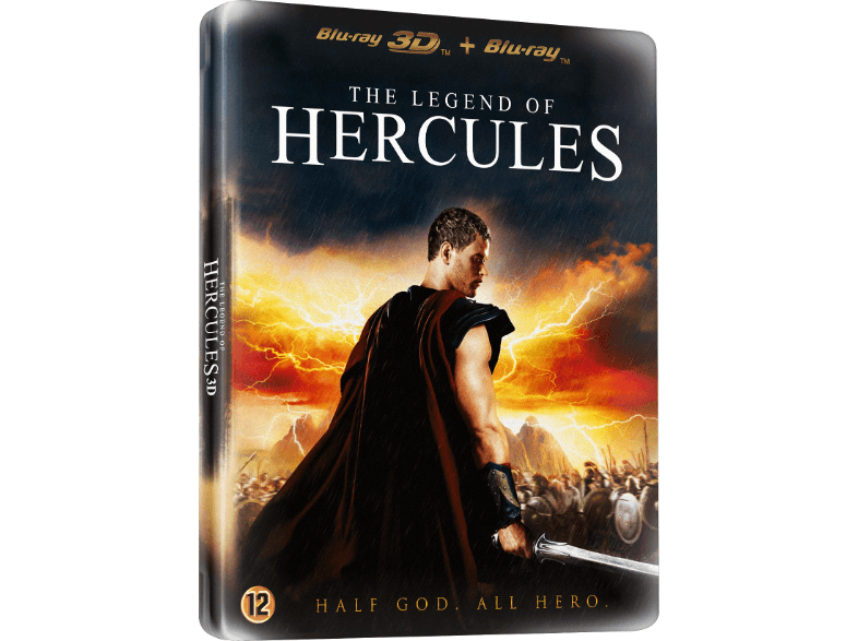 The Legend Of Hercules 3D (Limited Edition Metal Case)