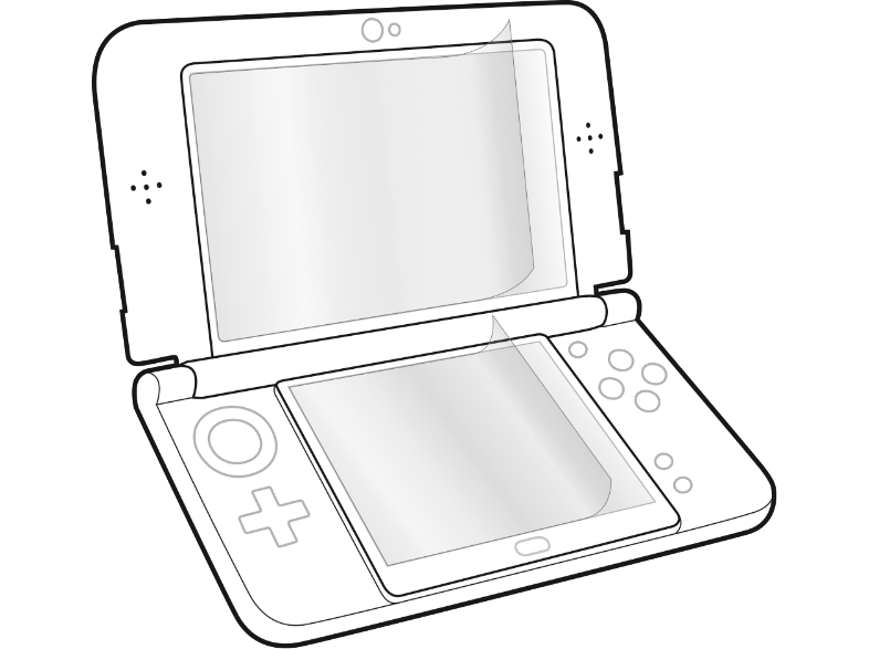 GLANCE Screen Protector New 3DS XL