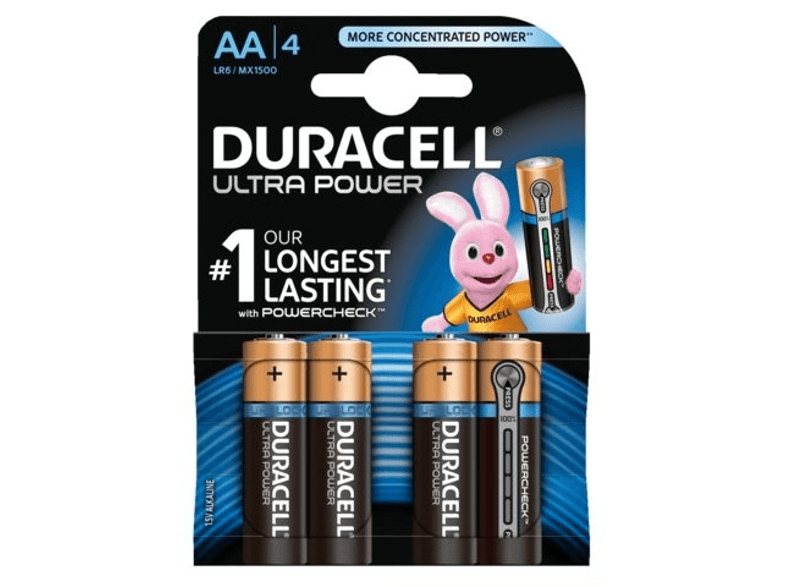 Ultra Power AA 4-pack