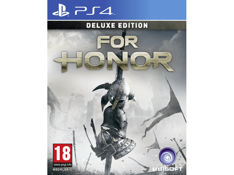 UBISOFT For Honor Édition Deluxe FR/NL PS4