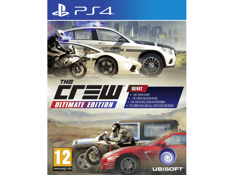 UBISOFT The Crew - Ultimate Edition FR/NL PS4