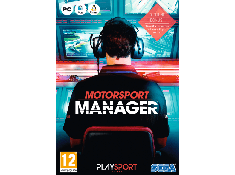 KOCH MEDIA SW Motorsport Manager NL/FR PC
