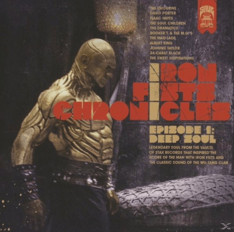 Various - Iron Fists Chronicles Ep.1 (Deep Soul) (CD)