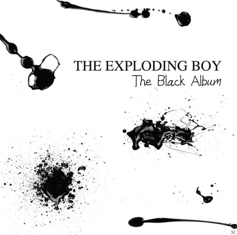 Exploding Boy The Black Album Rock CD