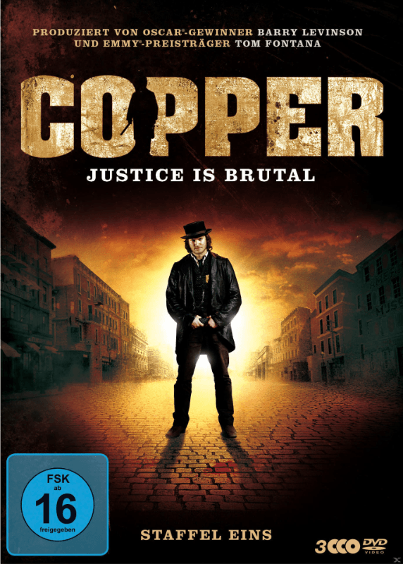 Copper - Justice is brutal Staffel 1 TV-Serie/Serien DVD
