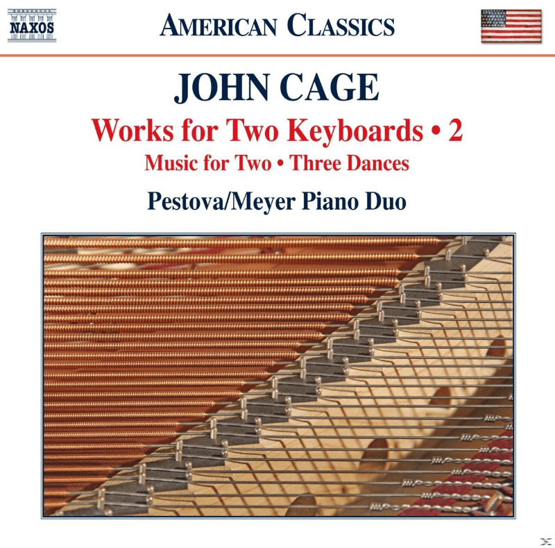 Xenia Pestova, Pascal Meyer - Cage: Works For Two Keyboards 2 (CD)
