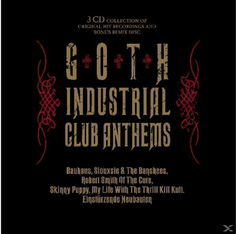 Various - Goth Industrial Club Anthems (CD)