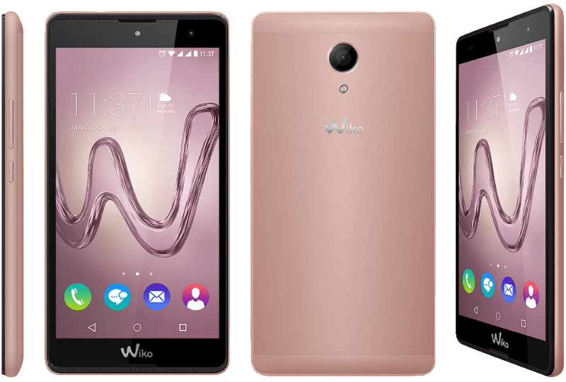 WIKO Robby, Smartphone, 16 GB, 5.5 Zoll, Rosegold