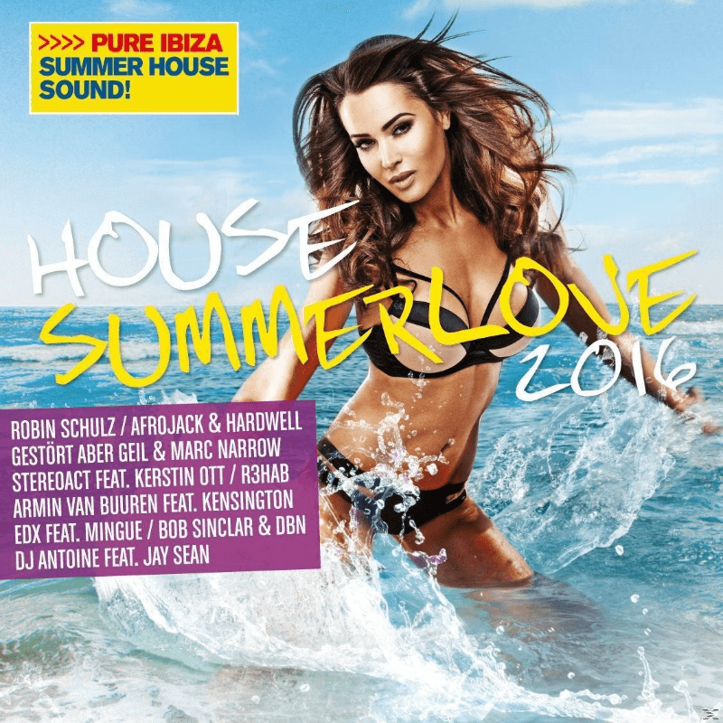 VARIOUS - House Summerlove 2016 (CD)