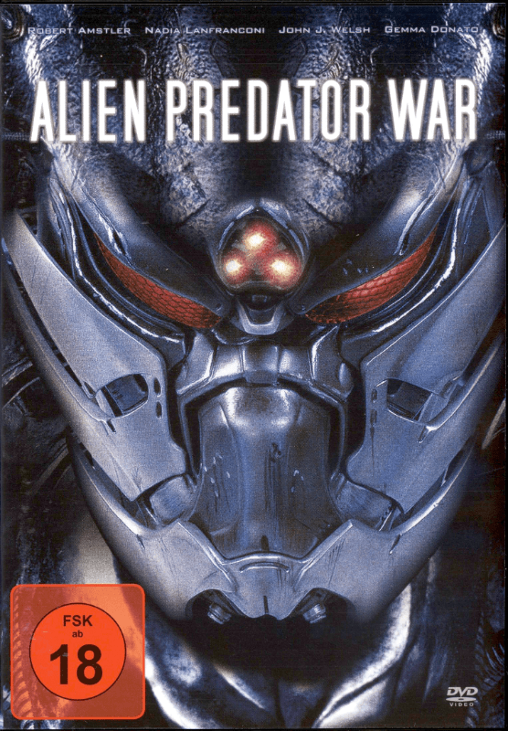 Alien Predator War - (DVD)