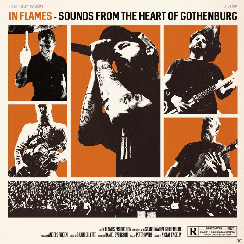 In Flames - Sounds From The Heart Of Gothenburg (Vinyl) - broschei