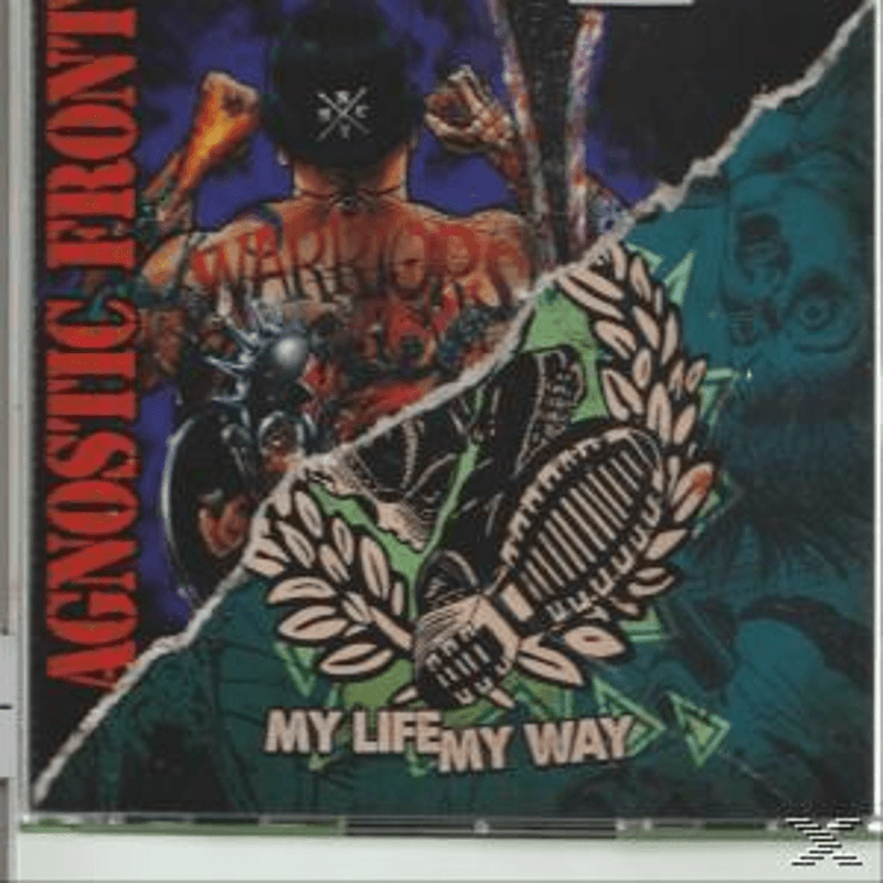 Agnostic Front - Warriors/My Life-May Way (CD) - broschei