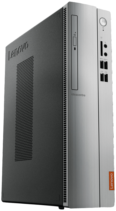 LENOVO IdeaCentre 510S 2. Generation, PC Desktop mit Core i5 Prozessor, 8 GB RAM, 2 TB HDD, 128 SSD, HD Grafik
