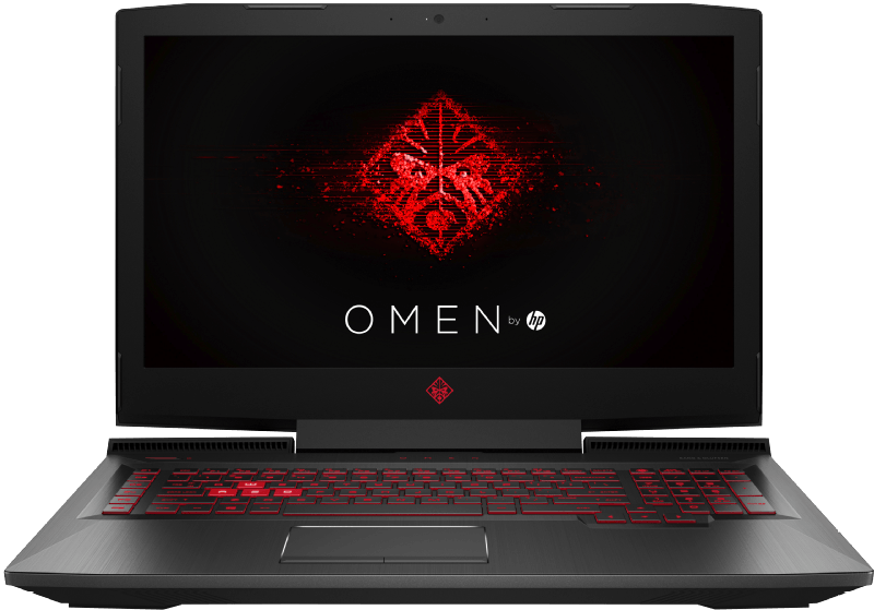 HP Omen 17-an033ng, Gaming Notebook mit 17.3 Zoll Display, Core i7 Prozessor, 16 GB RAM, 256 SSD, 1 TB HDD, GeForce GTX 1060, Schwarz