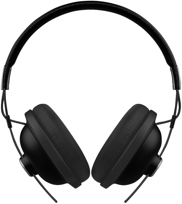 PANASONIC RP-HTX80BE, Over-ear Kopfhörer, Headsetfunktion, kabellos, Schwarz