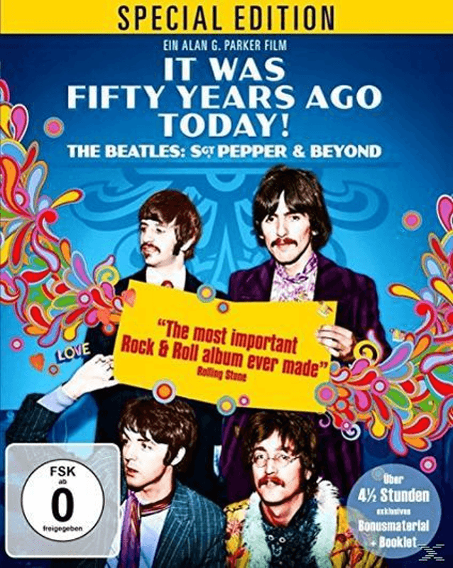 IT WAS FIFTY YEARS AGO TODAY! THE BEATLES SPECIAL - (Blu-ray)