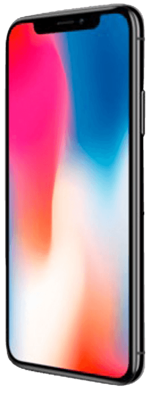 APPLE iPhone X, Smartphone, 64 GB, 5.8 Zoll, Space Grey, LTE