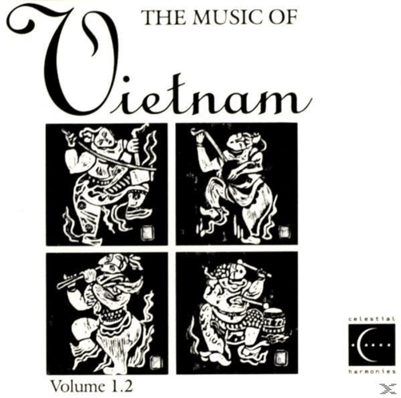 VARIOUS - Music Of Vietnam Vol.1.2 (CD)