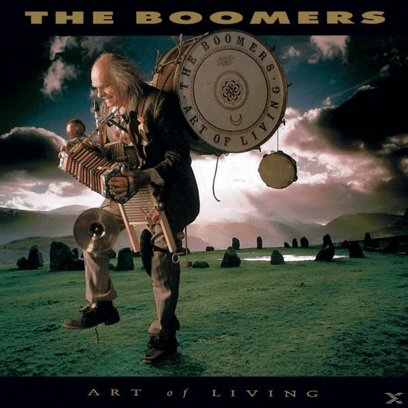 The Boomers - Art Of Living (CD) - broschei