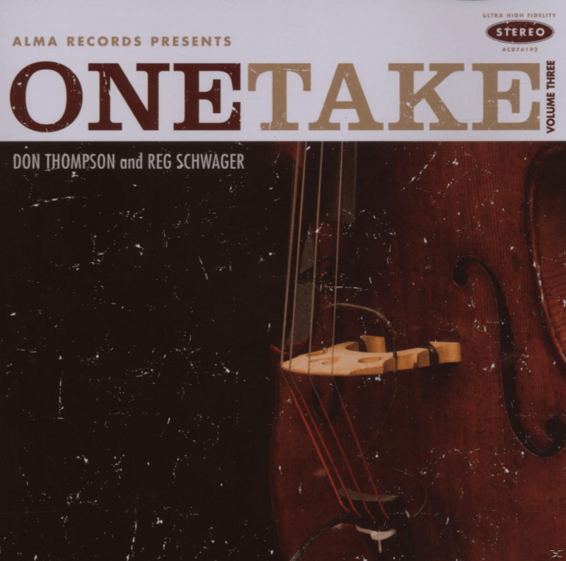 Reg Schwager, Don Thompson - One Take Vol.3 (CD) - broschei