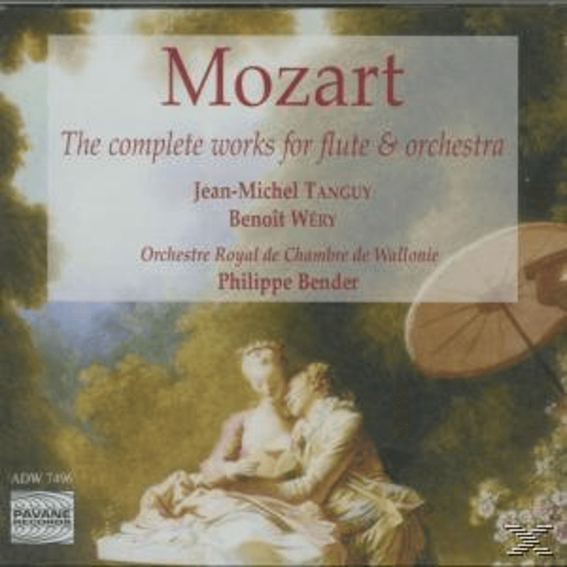 Jean-michel Tanguy, Tanguy/Wery/Orch.Royale De Wallonie - Mozart Works For Flute+Orchestra (CD)