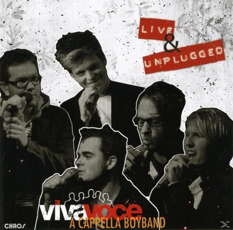 A Cappella Boyband, Viva Voce Die Band - Live & Unplugged (CD)