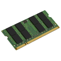 2GB 667MHz DDR2 CL5 Notebook Ram KVR667D2S5/2G