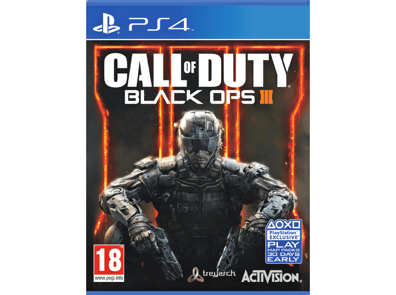 ACTIVISION Call of Duty: Black Ops III FR/NL PS4