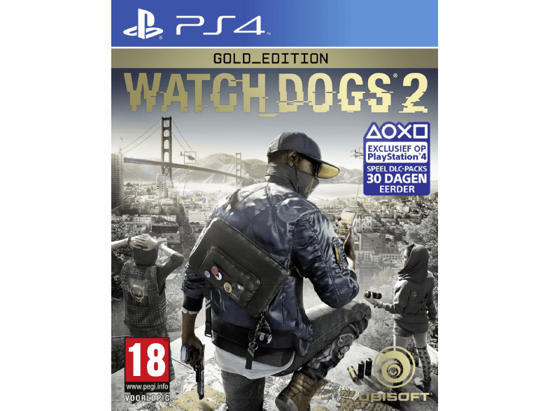 UBISOFT Watch Dogs 2 Edition Gold FR/NL PS4