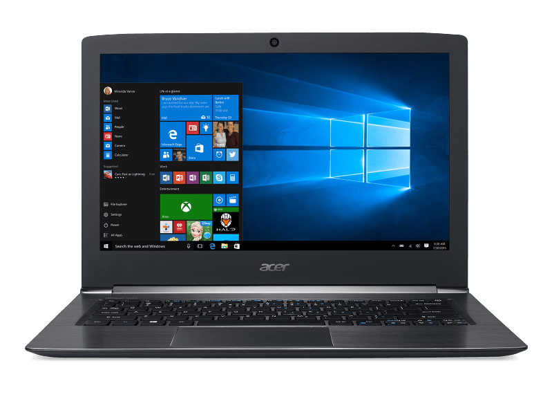 ACER PC portable Aspire S13 S5-371T-70GB Intel Core i7-7500U (NX.GCKEH.005)