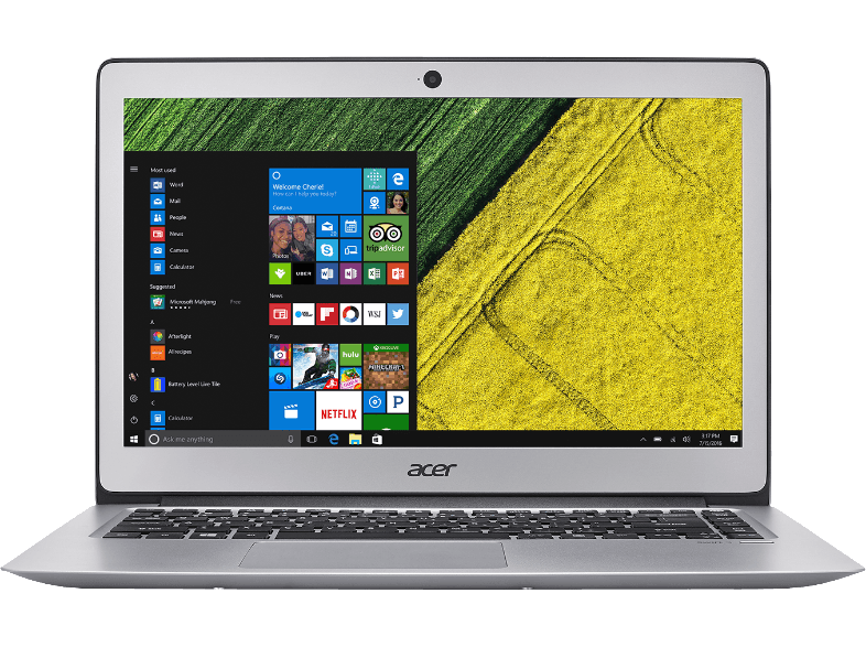 ACER PC portable Swift 3 SF314-51-51JV Intel Core i5-7200U Argenté (NX.GKBEH.020)