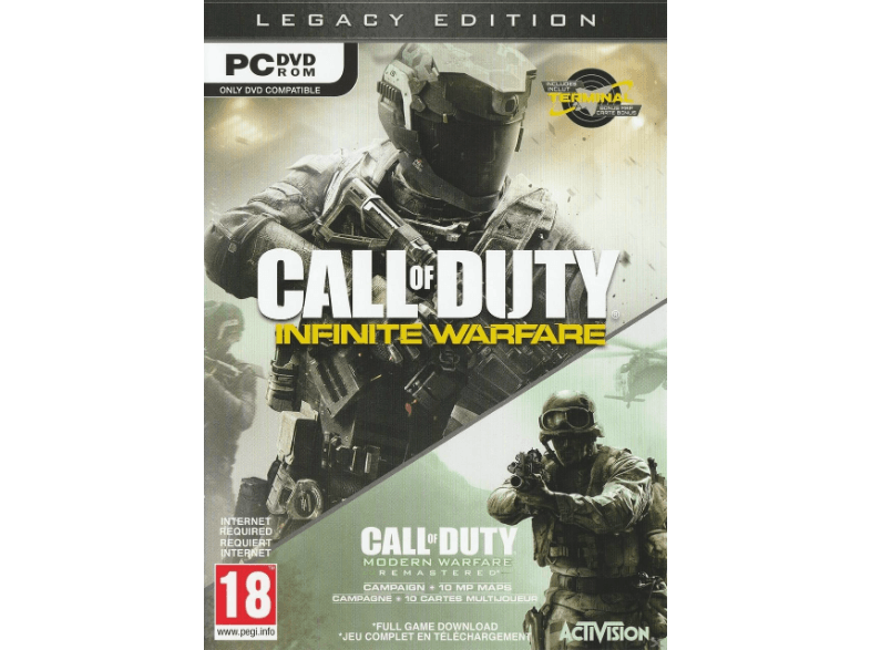 ACTIVISION Call of Duty: Infinite Warfare Edition Legacy FR/UK