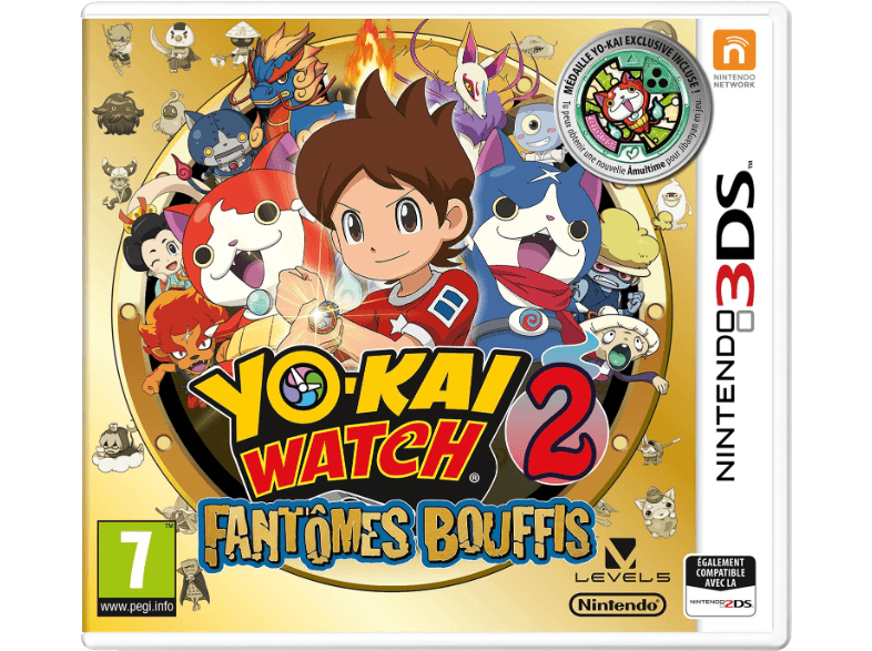 NINTENDO GAMES Yo-kai Watch 2: Fantômes bouffis FR 3DS